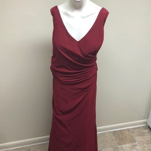Impression Long Sleeveless Gown